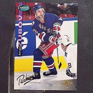 SERGEI-ZUBOV-1994-95-Parkhurst-GOLD-144-New-York-Rangers