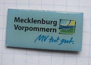 MECKLENBURG-VORPOMMERN-DEUTSCHLAND-Staedte-amp-Laender-Pin-107e