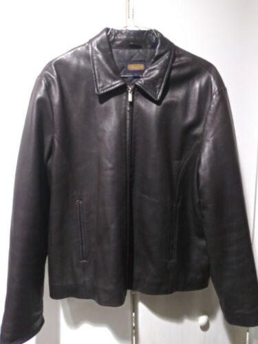 $699 COACH men's Size Large 100% Leather Jacket
