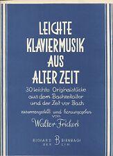 Piano Book, Easy Piano Classics (Leichte Klaviermusik Aus Alter Zeit), 30 Pieces