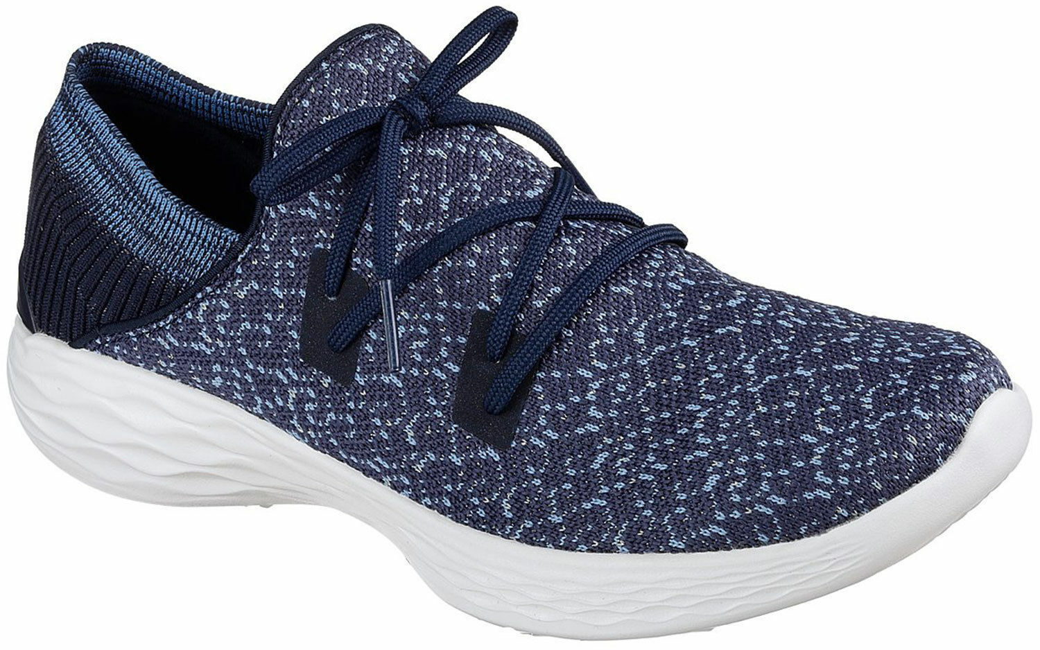 SCARPE YOU SKECHERS DONNA GOGA MAX HIGH REBOUND INSOLE 14964 NVY NAVY BLU EXHALE