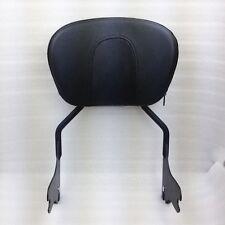 Black Detachable Sissy Bar Backrest for Harley Touring Street Glide FLHX 97-08