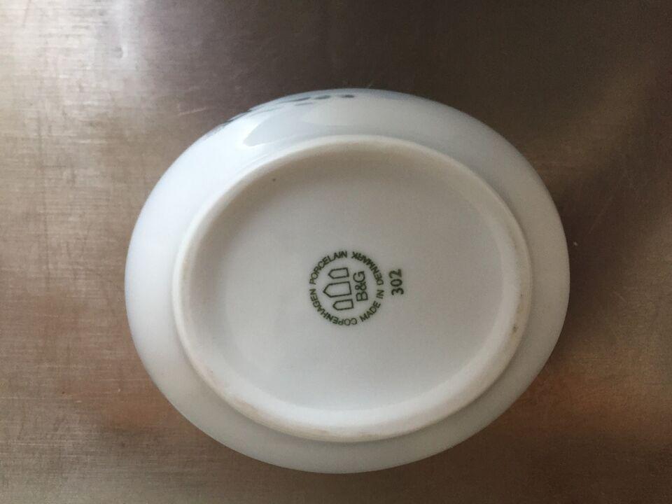 Porcelæn, KAFFESTEL, B&G JULESTEL