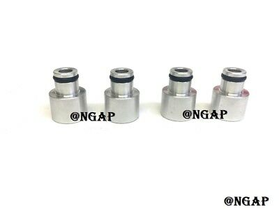 RDX FUEL INJECTOR TOP HAT ADAPTERS FOR  B series Engines D16 B16 H22 F22 D