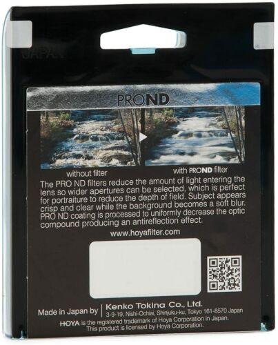 10 parada de densidad neutra Genuine Hoya 52mm Pro ND1000 Filtro Multi Recubiertos De Vidrio