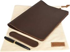 Refillable Genuine Leather Notebook Cover Planner Cover Leather Folder Xxl