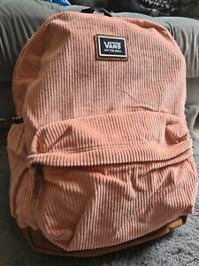VANS Realm Plus II Backpack Rose Dawn School Bag Rose Pink