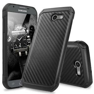 For-Samsung-Galaxy-J7-2017-2018-J7-Sky-Pro-Carbon-Fiber-Shockproof-Case-Cover