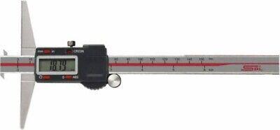 "SPI 11-963-6 Absolute Digital Electronic Caliper 0-8""//0-200mm Range SPC//USB"