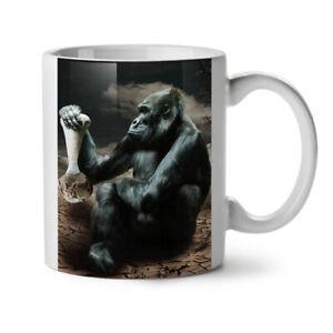 Monkey Desert Wild Animal NEW White Tea Coffee Mug 11 oz | Wellcoda
