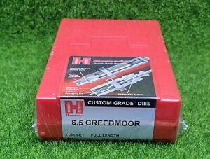 Hornady 6.5 Creedmoor Custom Grade Reloading 2-Die Set Full Length - 546289