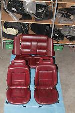 Audi 80 Cabrio Lederausstattung Rot Bj.1995 Mit Sitzheizung