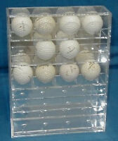 Golf Ball Display Case Holds 20 American Made In Box