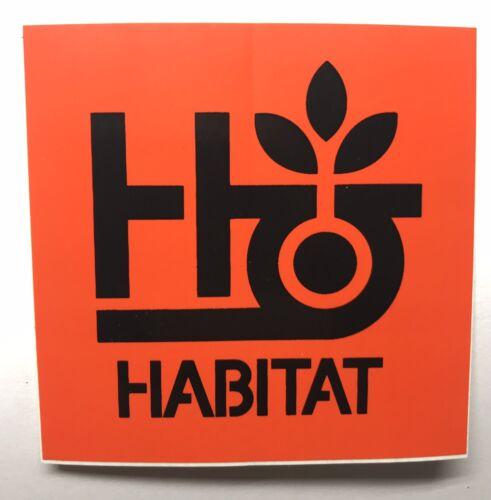 Habitat Skateboards Sticker Skate Decal Board Logo Alien Workshop Janoski Sucui