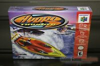 Hydro Thunder (nintendo 64, N64 1999) Factory Sealed & Gem Mint - Rare