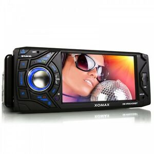 AUTORADIO-AVEC-BLUETOOTH-ECRAN-TACTILE-11cm-USB-SD-MP3-AUX-SIMPLE-1DIN-SANS-CD