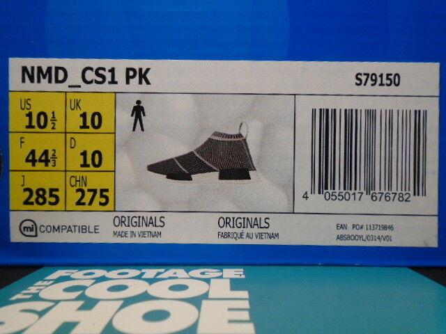 2018 adidas nmd schwarzen cs1 pk primeknit kern schwarzen nmd vintage - weiße grauen r1 s7910.5 6339f2