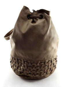 Liebeskind-Berlin-Beige-Leather-Shoulder-Bag-Women-s