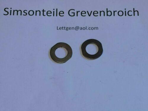 2x Anlaufscheiben 1,0mm  für Simson Kolben original DDR  unbenutztg