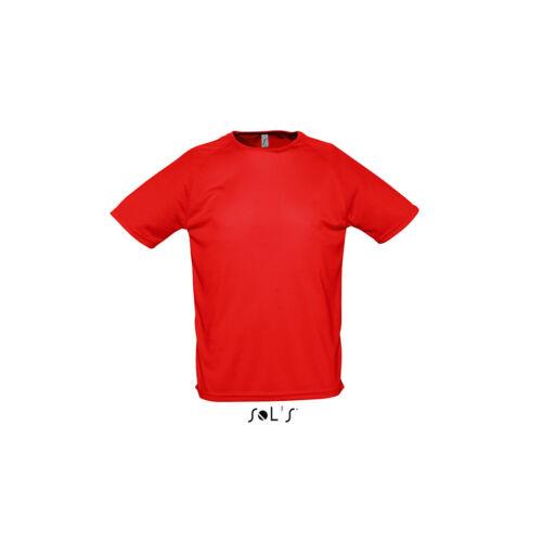 Mens Sporty Short Sleeve Performance T Shirt Athletic Sport Casual Plain Yellow
