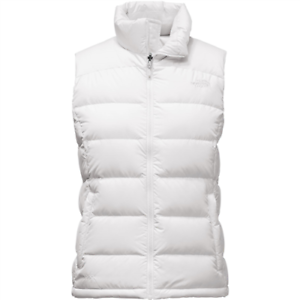 The North Face women's white Nuptse 2 Vest size Large