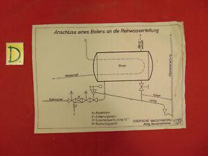 Sonstige SchöN Anschluss Eines Boilers An Die Reinwasserleitung Schema Tropf-Trocken