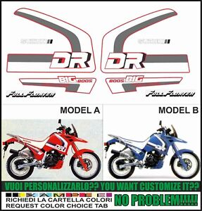 kit adesivi stickers compatibili DR 800 S BIG 1991