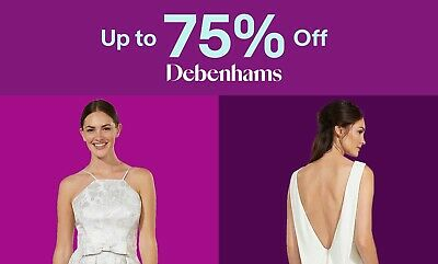 Up to 75% off Bridal Dresses