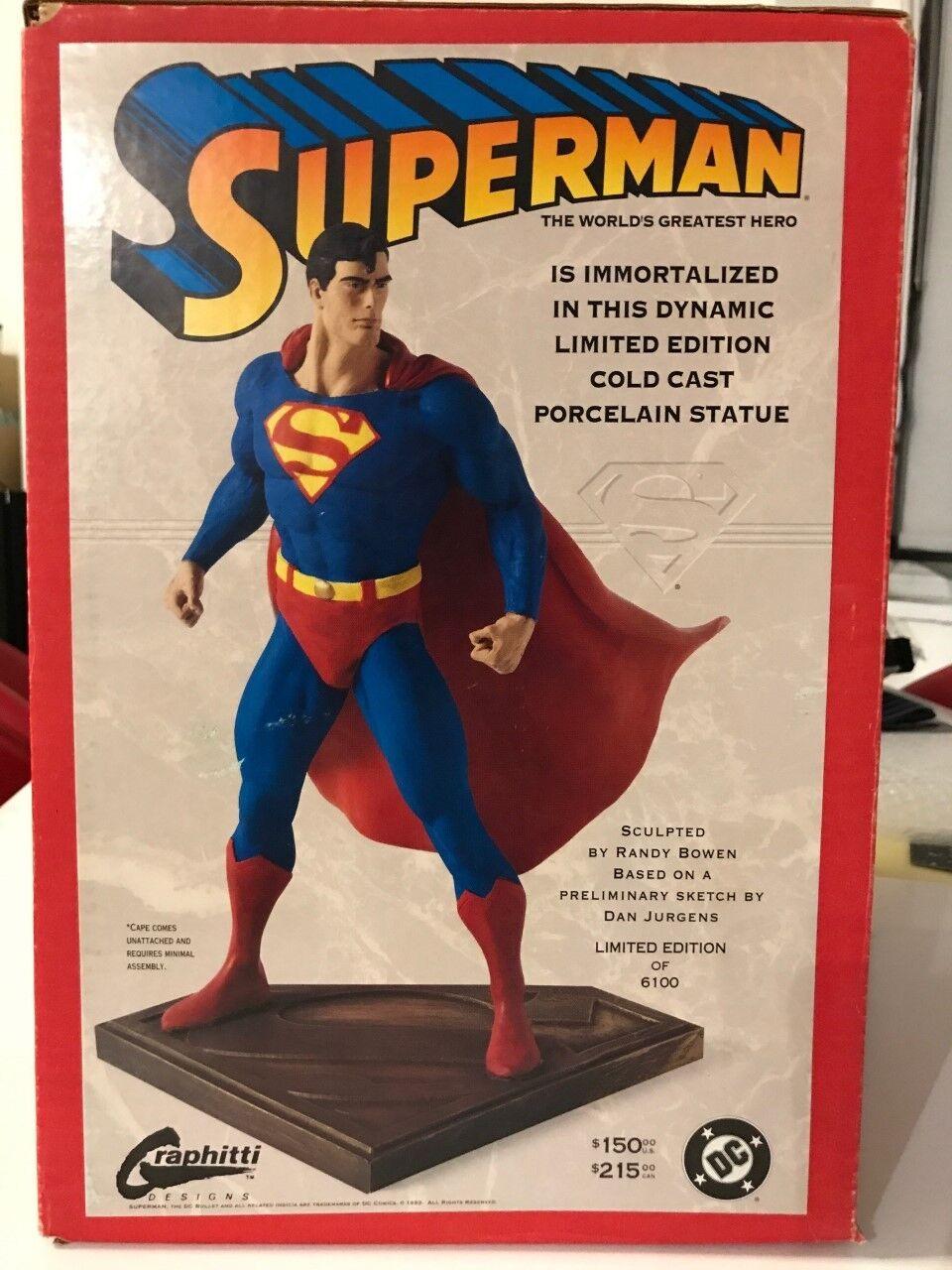 Figura Estatua Maquette Polystone súperman Seinfeld DC La Liga De La Justicia Bowen
