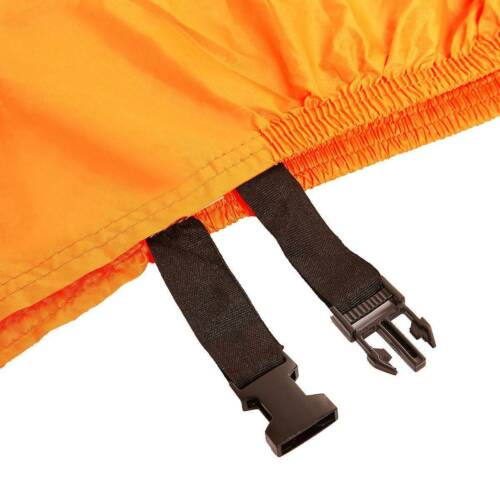 XL Orange Motorcycle Cover Waterproof For 600cc 250cc 150cc 125cc 50cc Scooter F