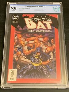 BATMAN-Shadow-of-the-Bat-1-9-8-1st-Victor-Zsasz-1st-Jeremiah-Arkham-DC-CGC-lt-CBCS