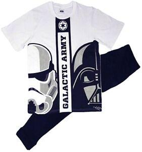 Homme-Star-Wars-Pyjama-ensemble-t-shirt-Lounge-Pantalon-Pantalon-Pyjama-Cadeau-Nightwear-Cadeau