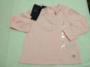 166b11345e97db Image is loading TOMMY-HILFIGER-BABY-GIRL-TOP-PINK-2T
