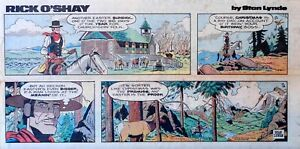 Rick-O-039-Shay-by-Stan-Lynde-Easter-color-Sunday-comic-page-April-18-1976