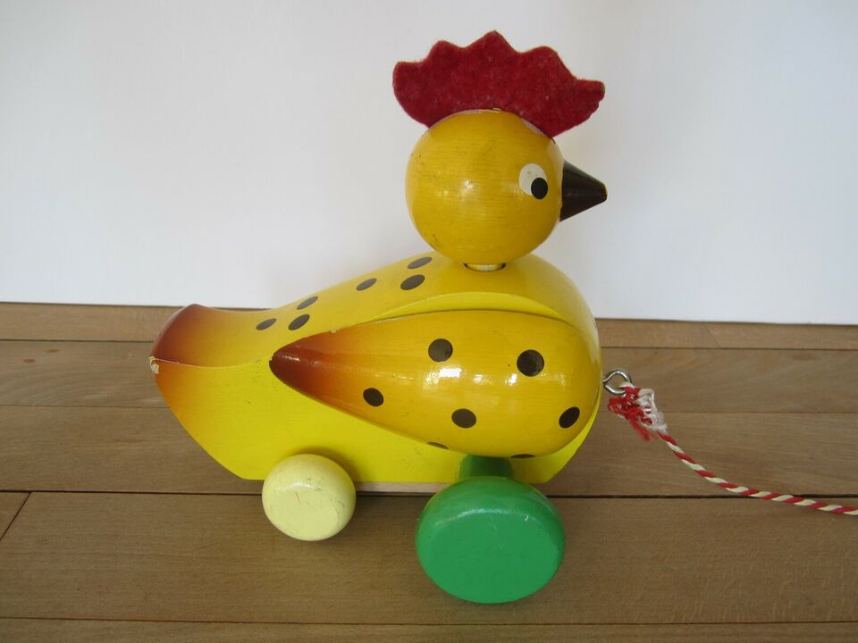 Andet legetøj, Pull Along Bird, Tjekkoslovakisk