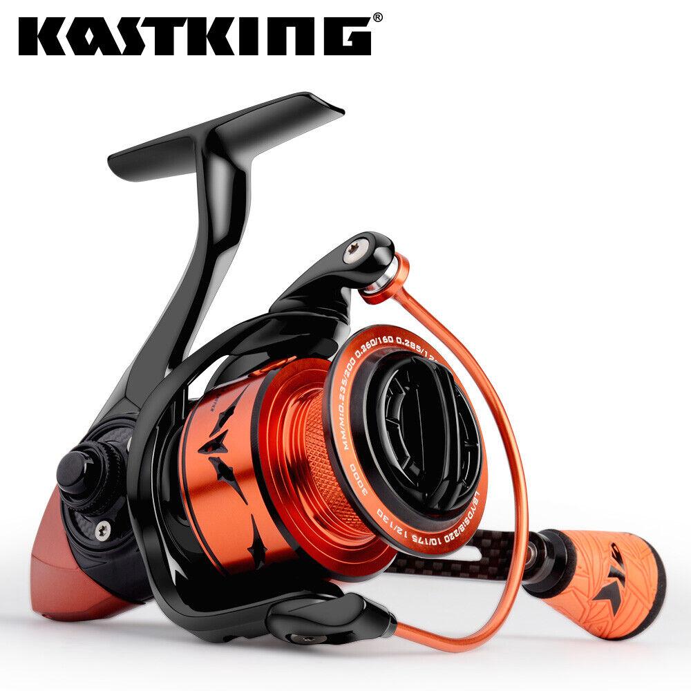 Kastking de velocidad que lleva Pro Cocherete giratorio para Agua  Salada 7.2  1 súper Velocidad Cocheretes de pesca  forma única