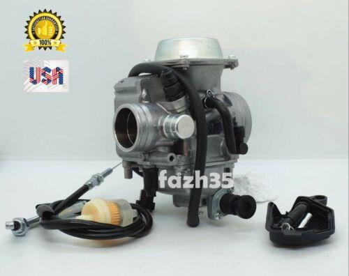 Carburetor with Throttle Cable fit Kawasaki Bayou 300 KLF 300A 300B 300C 4x4 ATV