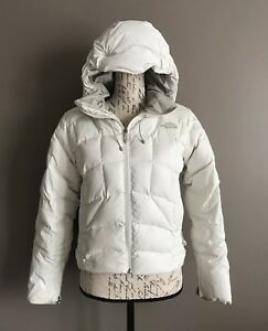 The North Face Women s 600 Fill Goose Down Puffer Hooded Jacket Coat ... b4e06b4ab