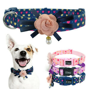 Fancy-Flower-Dog-Collars-Pet-Cat-Show-Necklace-for-Small-Medium-Large-Girl-Dogs
