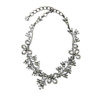 Necklace Silver Ras neck Pen Retro Antique Original Marriage Gift CSO 3