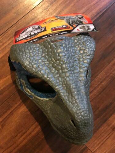 Jurassic World Velociraptor Bleu Dino Rivaux Masque