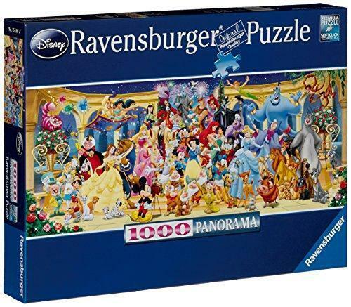 New Ravensburger Disney Group Panoramic 1000 Piece Jigsaw Puzzle