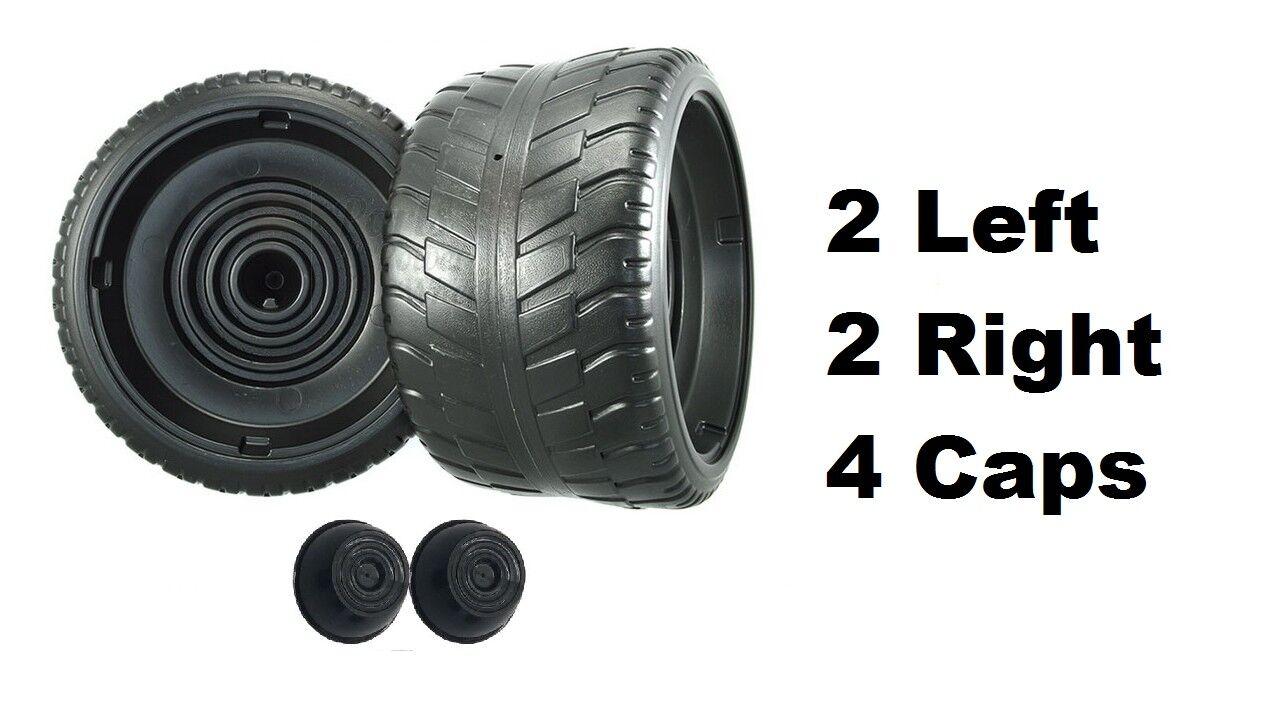 Power Wheels Cadillac Escalade 4 Tires 2 Left & 2 Right G3740-2409 G3740-2419
