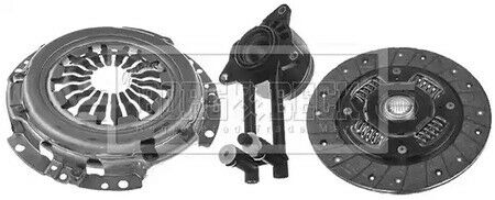 BORG n BECK 3PC CLUTCH KIT with CSC for FORD FIESTA V 1.4 16V 2001-2008