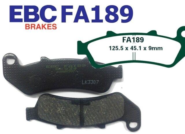 Bremsbeläge hinten Honda CBR 1000 F Dual CBS 93-00 EBC Bremsklotz FA189