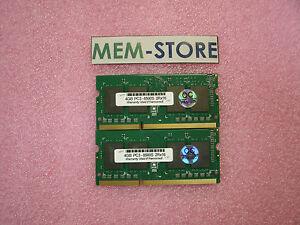 8GB-2x4GB-SODIMM-1066MHz-Memory-Lenovo-Thinkpad-L512-L520-SL410-510