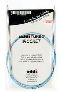 addi Turbo Rockets 60in. (150cm) Circular Knitting Needle Sz US 06 (4.00mm)