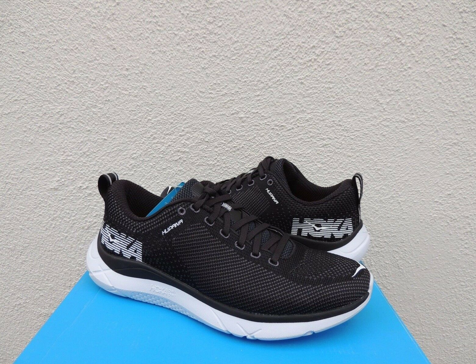 HOKA ONE ONE HUPANA nero  SHADOW ROAD RUNNING scarpe, US 7.5  EUR 39 1 3 NIB
