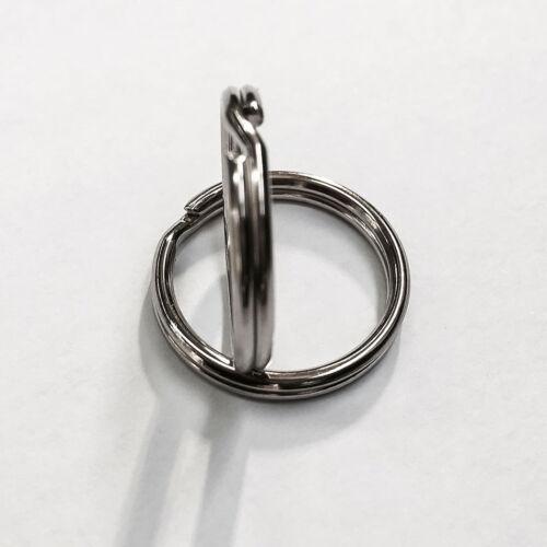 10 Schlüsselringe glänzend veredelt Stahl Gehärtet AD ø20mm ID ø17mm
