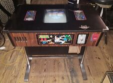 1980 MOON CRESTA Cocktail Arcade Game by Nichibutsu 100% ORIGINAL & NICE